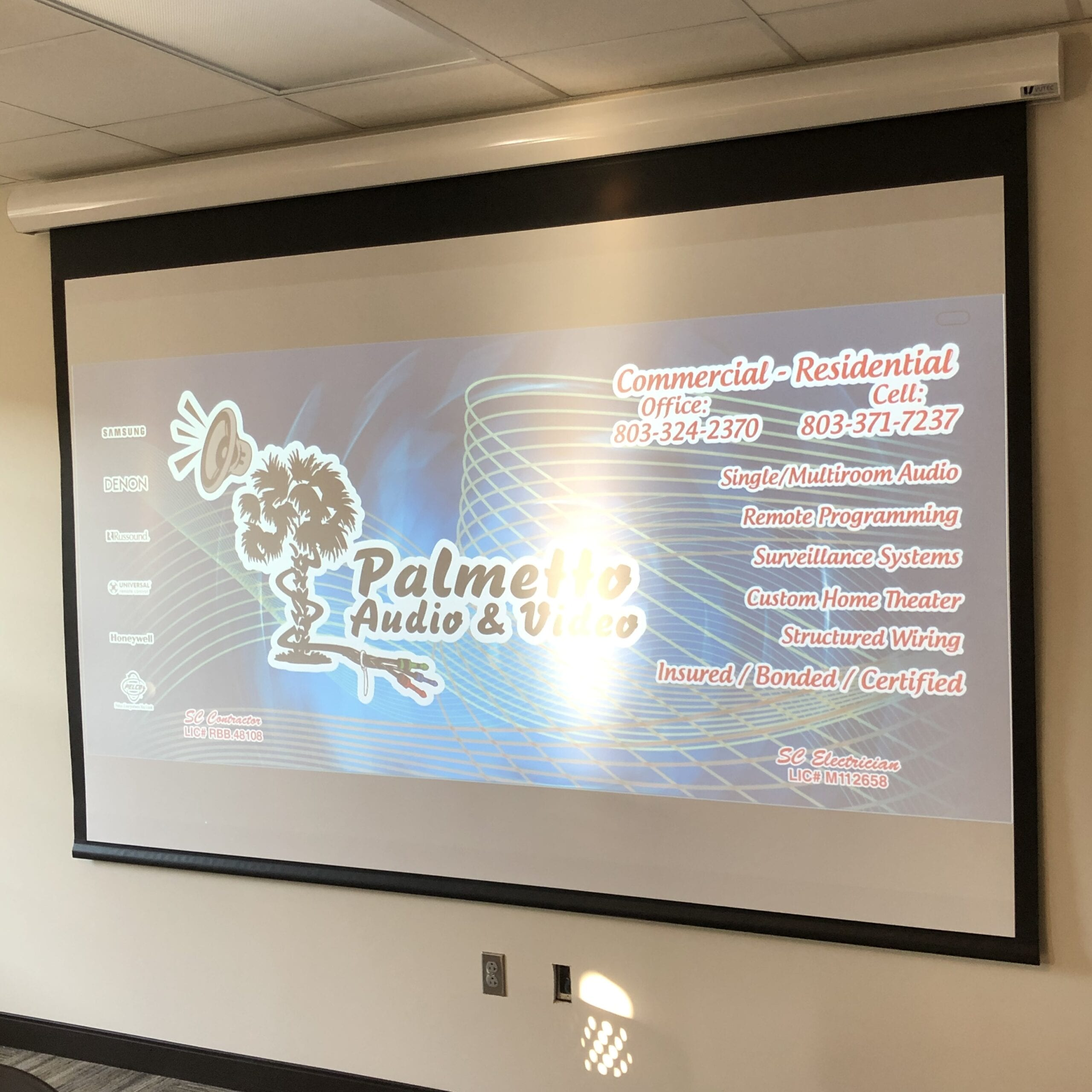 Palmetto Audio and Video home audio and video and dj services for special events